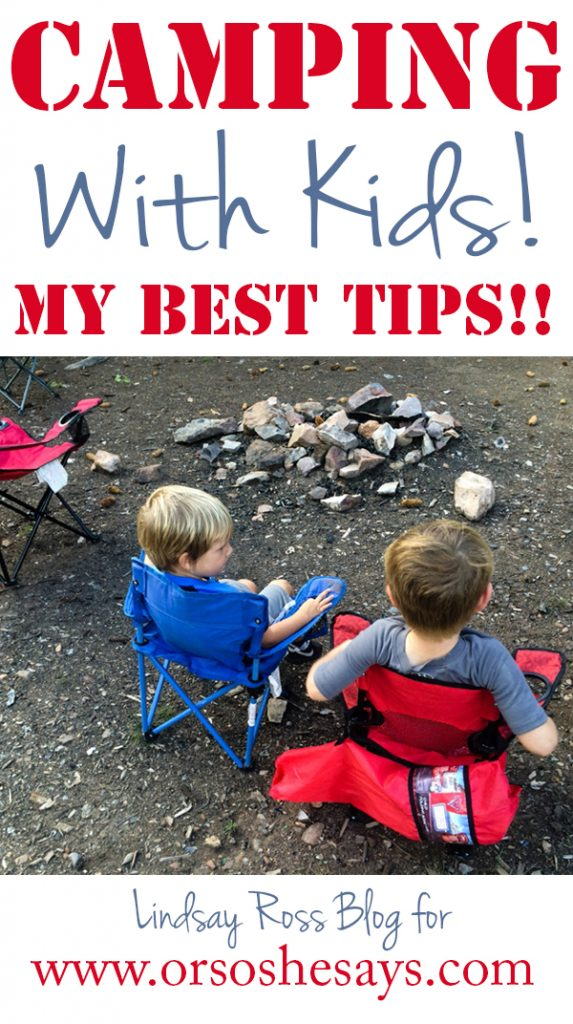 Camping With Kids ~ Killer Tips from a Camping Momma! #camping #campingwithkids #outdoors #familyfun