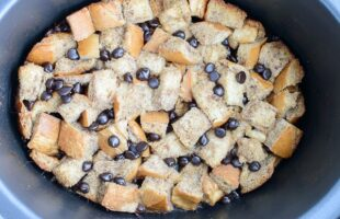 Crock Pot Chocolate Chip French Toast (she: Jen)