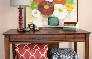 Entryway Makeover & Sauder Review