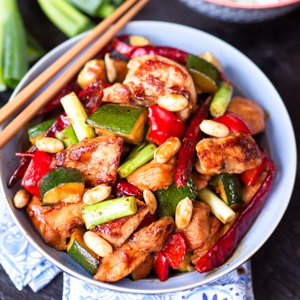 Copycat Kung Pao Chicken - It's easier to make then you think!