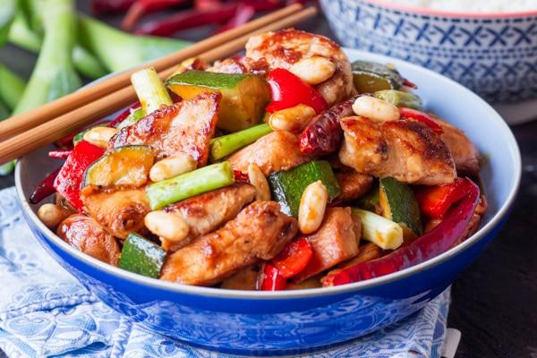 Copycat Panda Express Kung Pao Chicken Recipe
