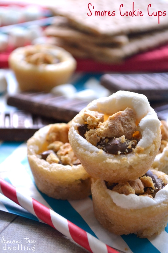 S'mores Cookie Cups & 24 Fun Summer Recipes!