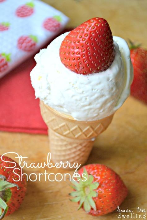 Strawberry Shortcones & 24 Fun Summer Recipes!