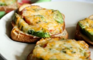 Turkey Tomato Avocado Cheese Melt