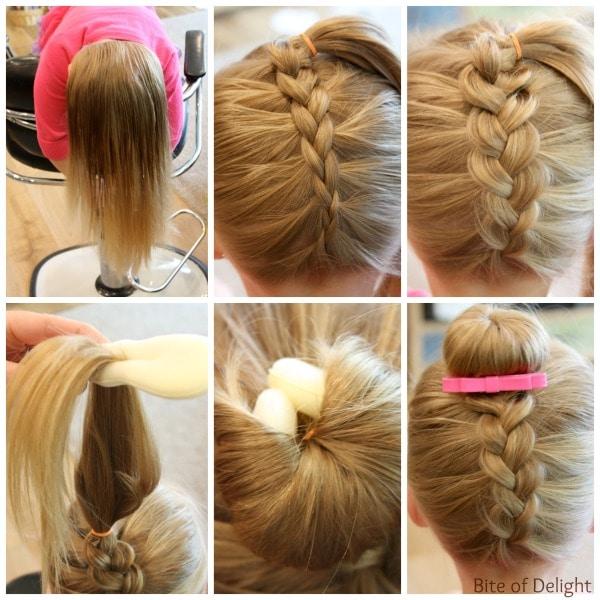 Плетение косичек простые для девочек пошагово для начинающих