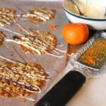 Chocolate Drizzled Orange Oatmeal Lace Cookies - almost too pretty to eat!