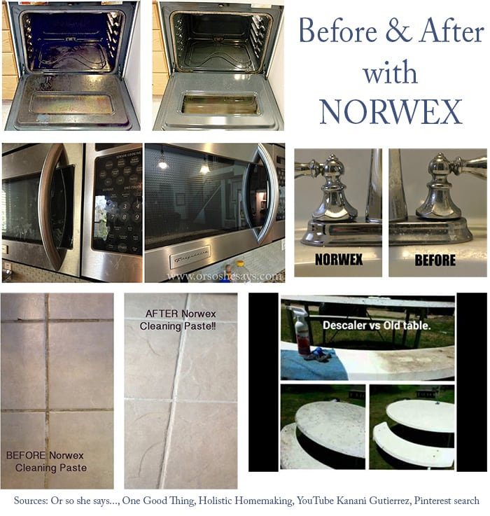 norwex before after pictures