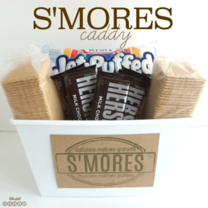 S'Mores Caddy {With Printable Label} (she: Brooke)