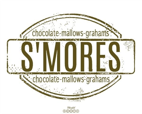 S'Mores Watermak (Brown)
