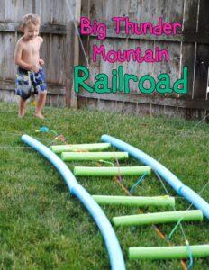 turn your backyard into disneyland