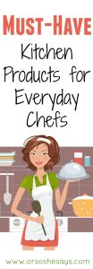 17 Must-Have Kitchen Products for Everyday Chefs (she: Mariah)