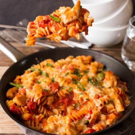 30-Minute Skillet Chicken Pasta