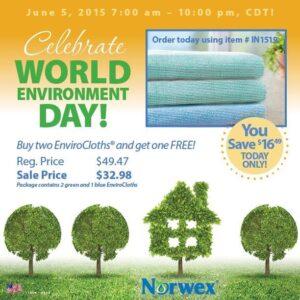 Buy 2, Get 1 FREE Norwex EnviroCloth