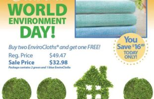Buy 2, Get 1 FREE Norwex EnviroCloth