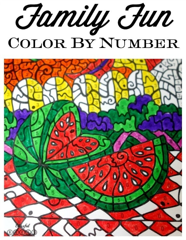 Color By Number 5