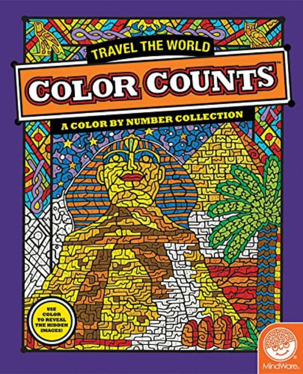 Color By Number Travel the World