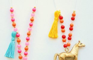 Animal Necklaces – A Great Craft for Kids (she: Sierra)