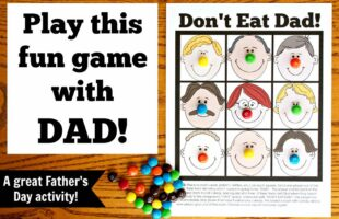 Don't Eat Dad Game ~ Perfect for Family Night (she: Veronica)