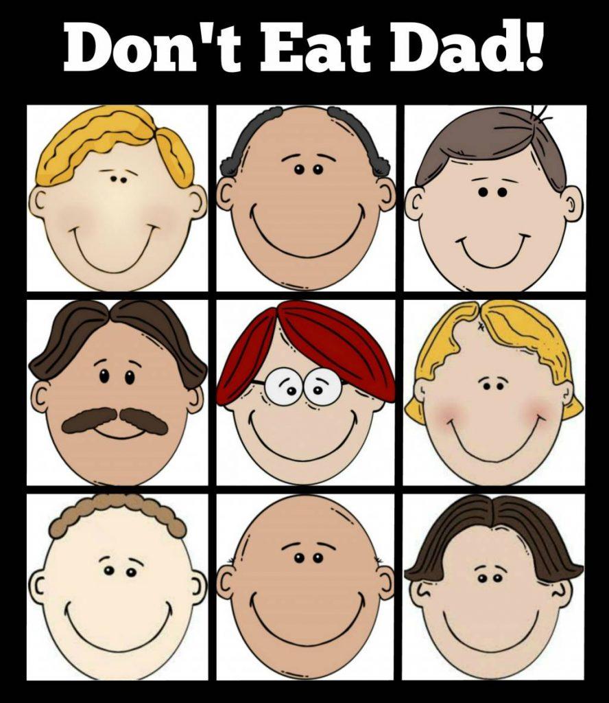 don't eat dad game