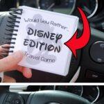 "Disney Theme ""Would You Rather"" Game Printable"