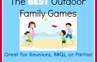 outdoor familiy games