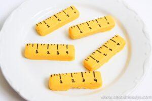 Ruler Cookies and Printable (she: Sierra)