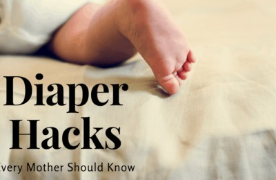 Diaper Hacks Every Mother Should Know ~ www.orsoshesays.com