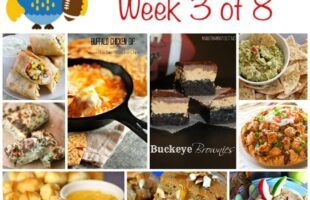 Lots of AWESOME Tailgating Food Ideas! Week 3 of 8