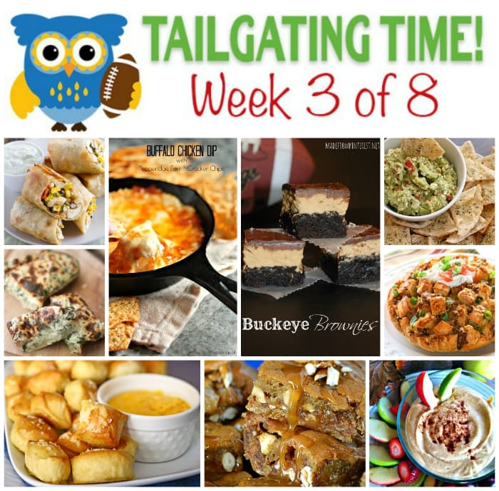 Get these 9 sweet and savory tailgating recipes by 9 incredible bloggers!