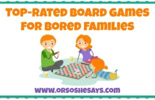 Top-rated board games for families!