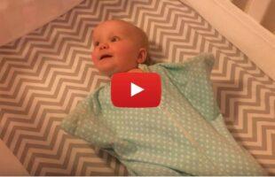 VIDEO: Baby Loves Cat