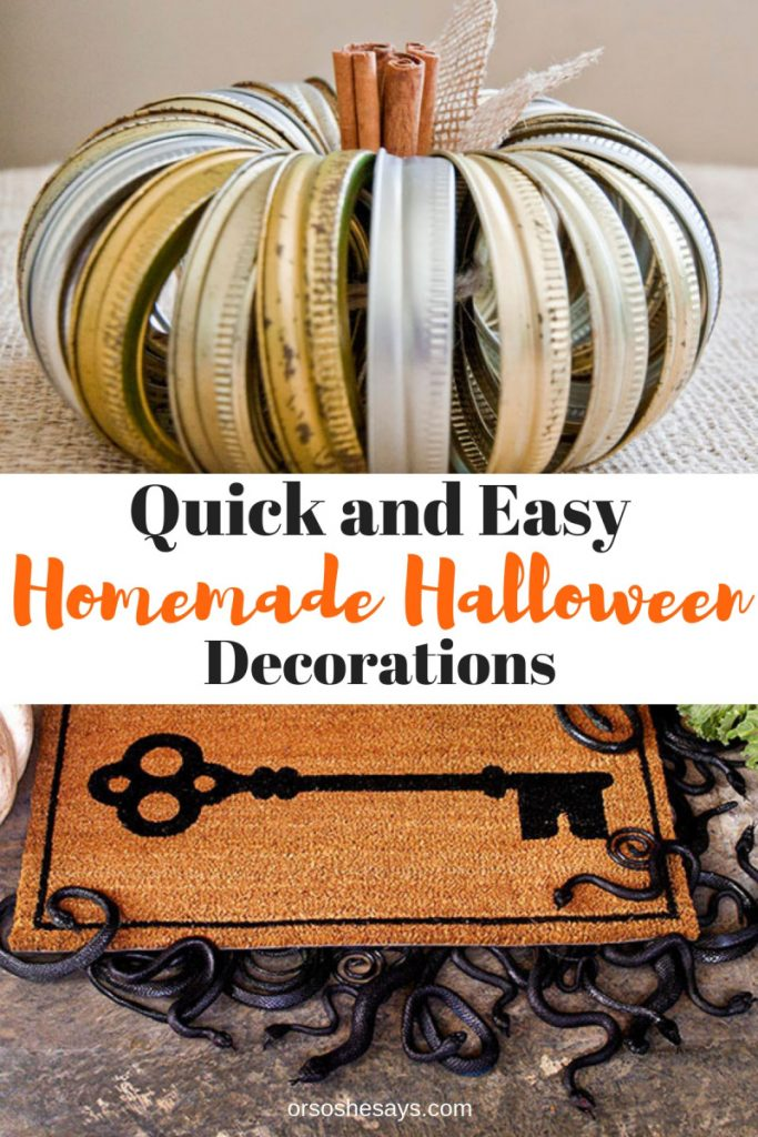 Quick Easy Homemade Decorations She Mariah