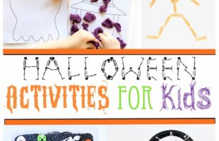 Education Halloween activities for kids!