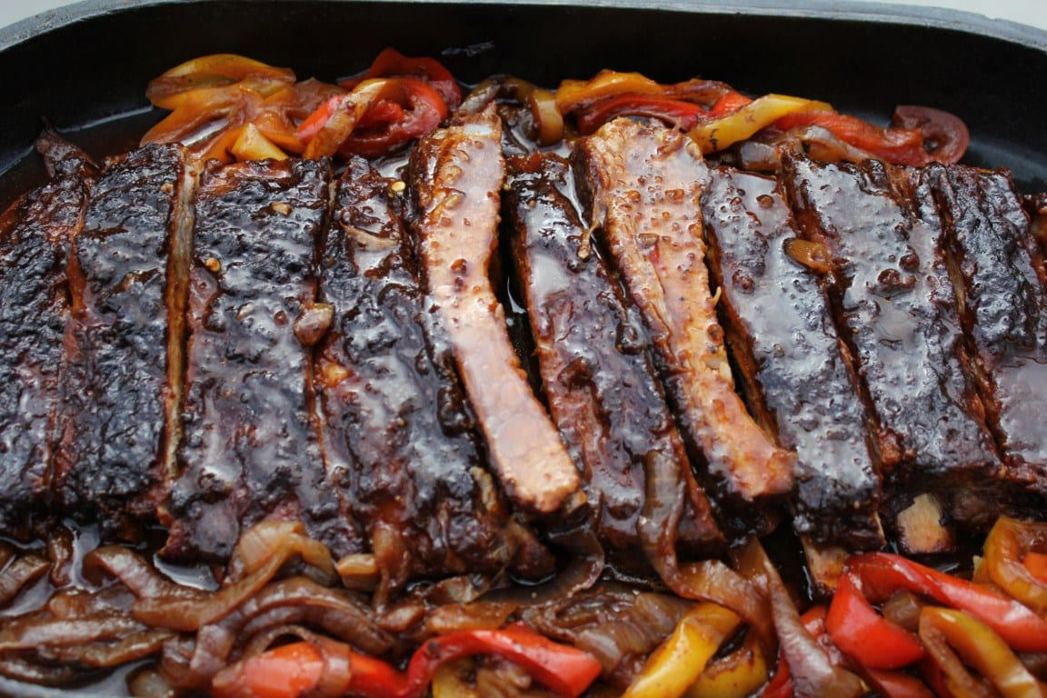 Best BBQ ribs you'll ever taste! Dutch Oven