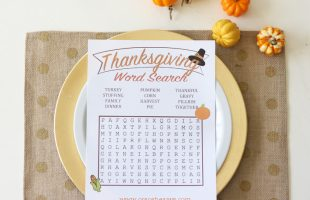 Thanksgiving Word Search (she: Liz)