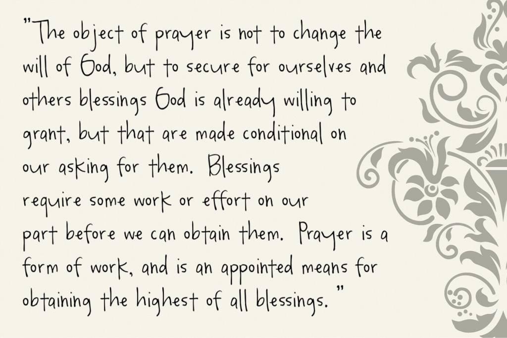 Does God hear prayers?