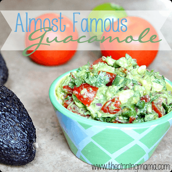 Almost Famous Guacamole by The Pinning Mama