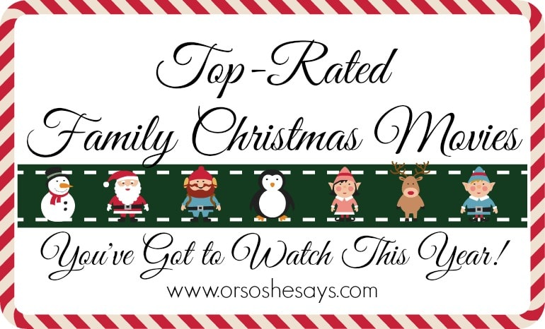 Top-rated family Christmas movies you've got to watch this year!