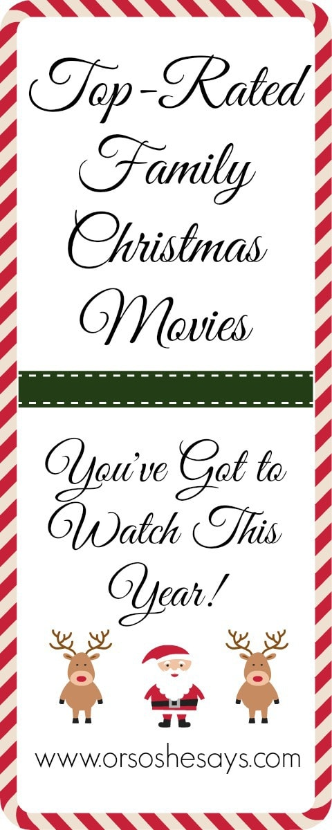 Top-rated family Christmas movies you've go to watch this year!
