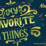 Mariel's 5 Favorite Things for November ~ She Picks!