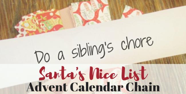 Nice List Advent Calendar – A Fun DIY for the Kids!