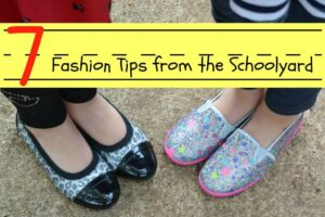 7 Fashion Tips from the Schoolyard