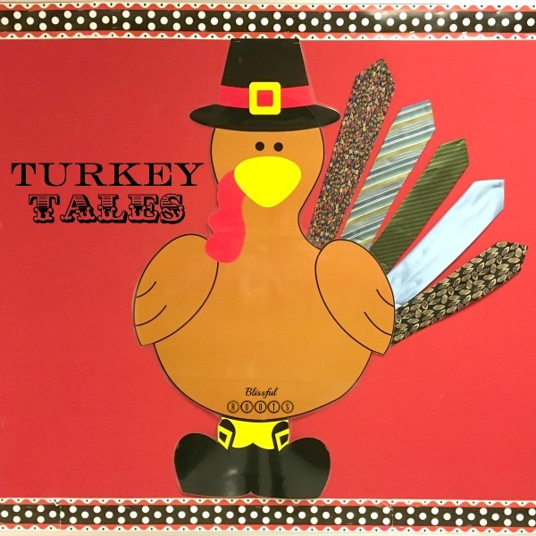 Turkey Tales - A Fun Thanksgiving Tradition!