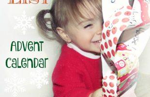 Nice List Advent Calendar – A Fun DIY for the Kids!  (Kari)