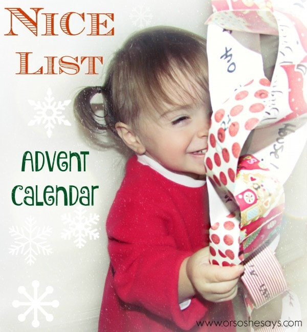 Nice List Advent Calendar