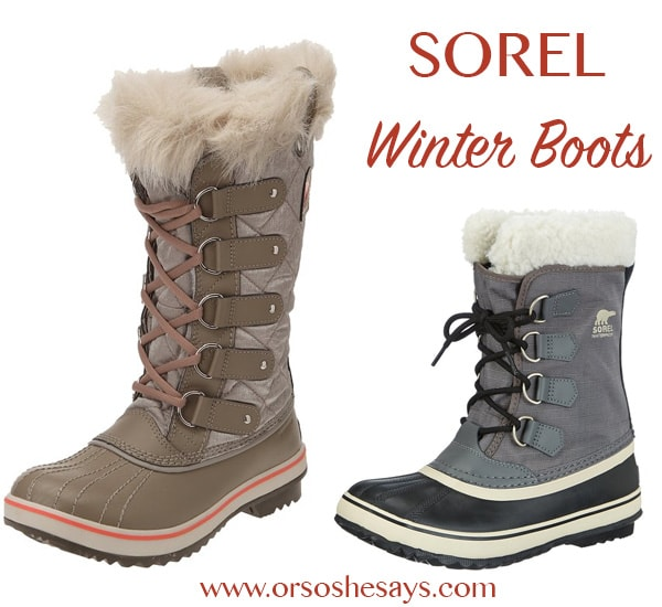 I want some SOREL boots!  Gift ideas for women ~ She Picks! 2015 ~  My favorite gift idea series!!