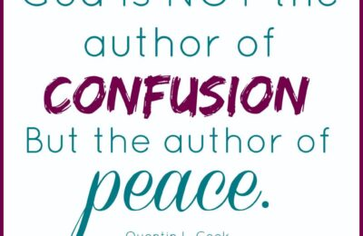 I love this post!! Awesome quote too. Where Can I Turn For Peace? www.orsoshesays.com