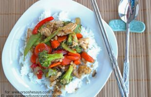 Try this honey chicken and veggie stir fry with the family and win them over with all the flavors they love.