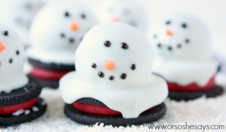 OREO melting snowmen 2