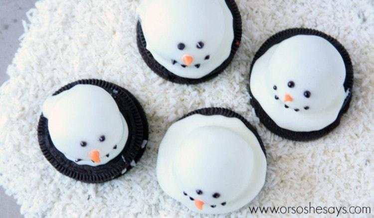 OREO melting snowmen 3